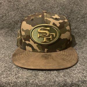 New Era San Francisco 49ers NFL Snapback Camo Hat